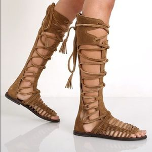 Free People Sun Seeker Gladiator Sandals